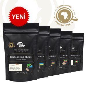 Afrika kahveleri deneme seti