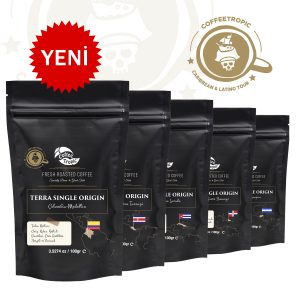 Karayip Adaları, Orta ve Güney Amerika kahve çekirdekleri
